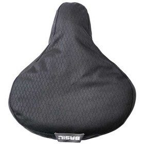 Basil Noir Saddle Cover midnight black